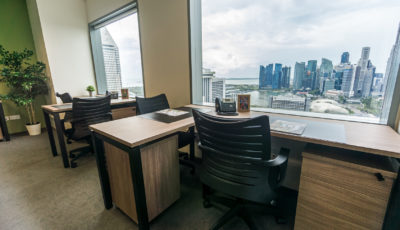 MOX Offices – Suntec Tower 1 Level 32 3D Model
