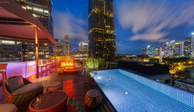 Naumi Hotel Singapore – Cloud 9 Infinity Pool & Bar 3D Model