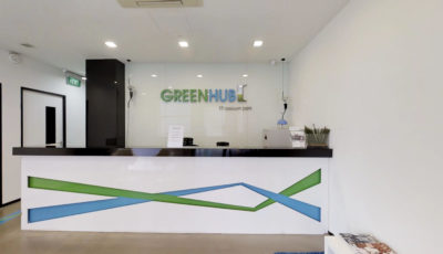 GreenHub Raeburn Park 3D Model