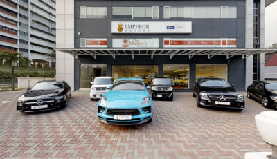 Emperor Motors – Showroom 3D Model