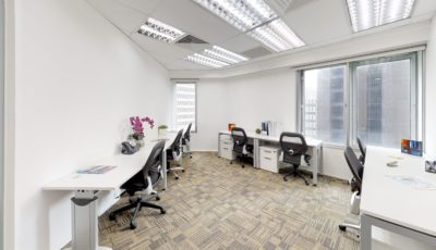 Centennial Serviced Offices – The Octagon Level 7 & 8 3D Model