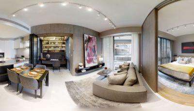 1 Bedroom + Study (Type 1C+S, 764 sq ft)
